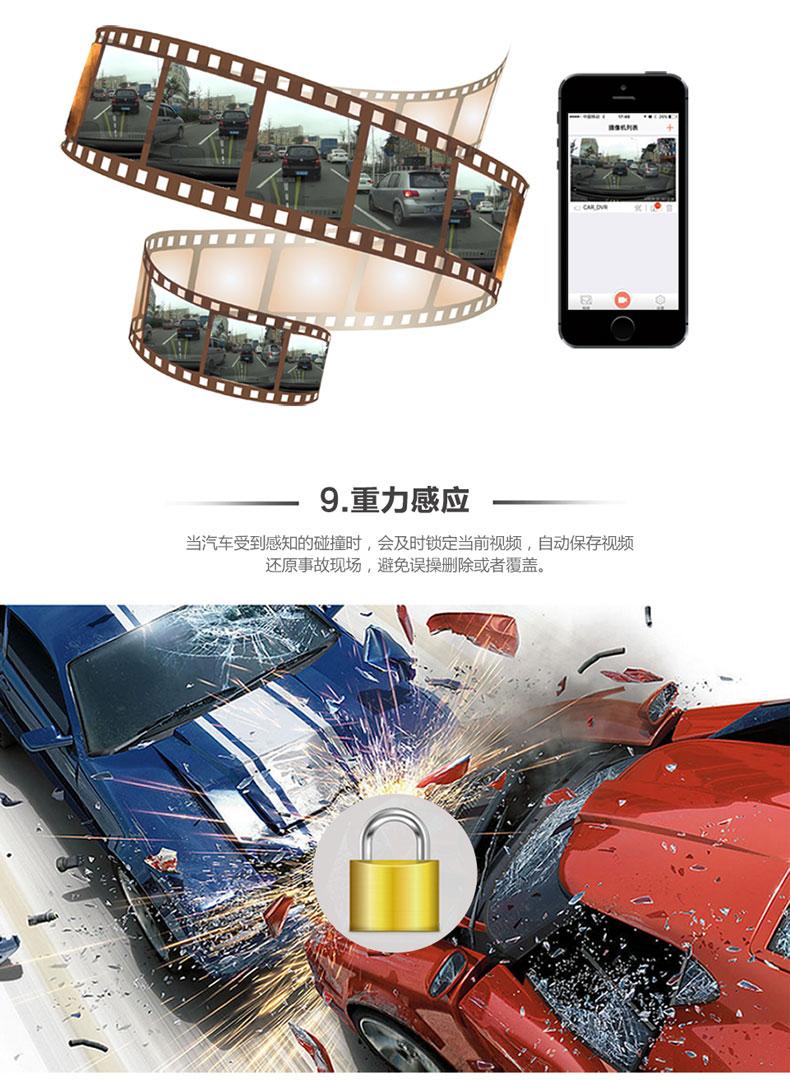 隐藏式专车专用行车记录仪|wifi行车记录仪|电子狗|生产厂家